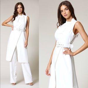 Blithe LA White Jumpsuit Blazer and Pants Set